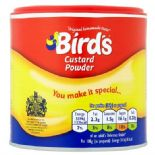 Birds Custard Powder Original 300g Drum